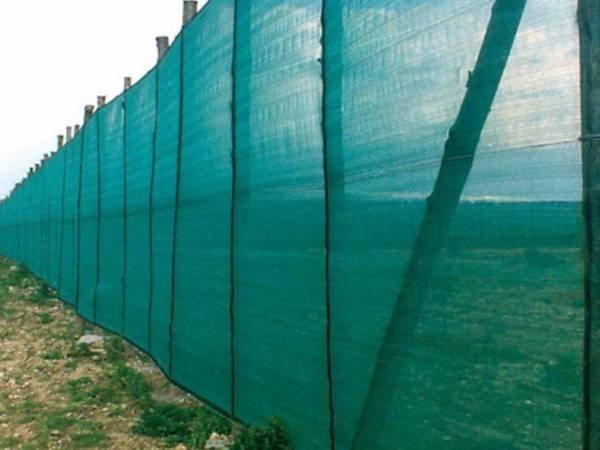 Windbreak Mesh Is Made From High Density Polyethylene For Use