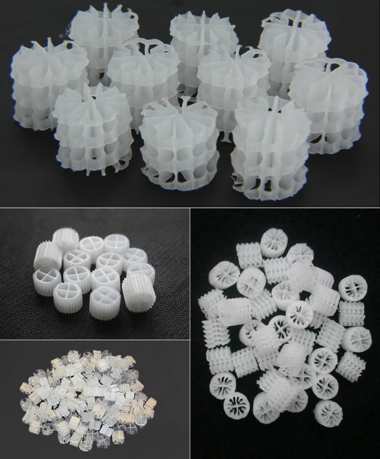 Plastic Filter Media Or Biofiltration Media And Ceramic
