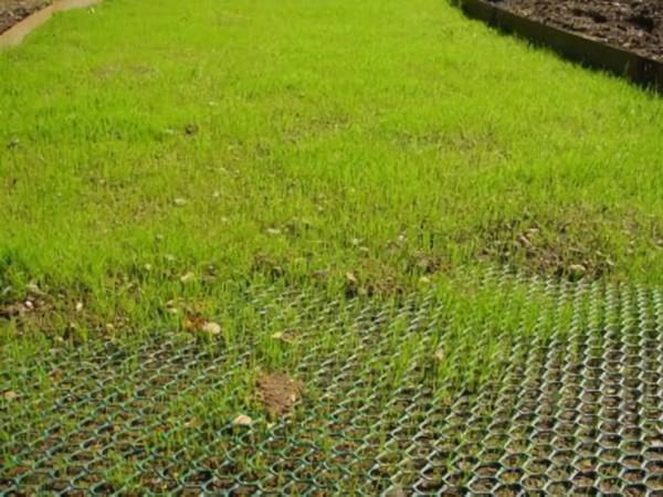 Turf Reinforcement Mesh Ideal For Grass Areas Taxi Ways